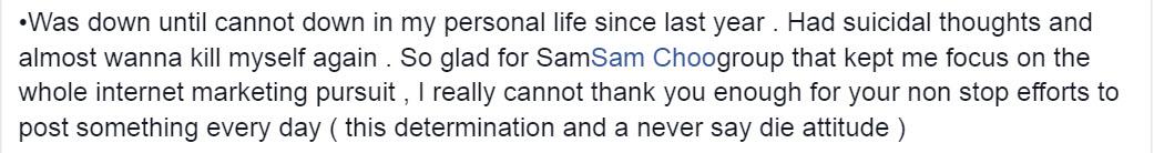 What Ann said about sam choo