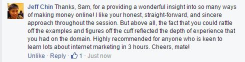 jeff chin testimonial for sam choo