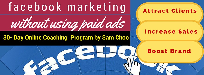 FB marketing without Using Paid Ads