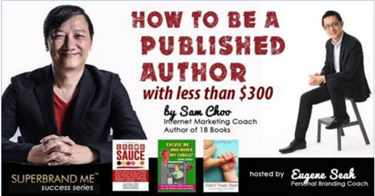 Be a published author