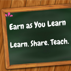 Earn as you learn