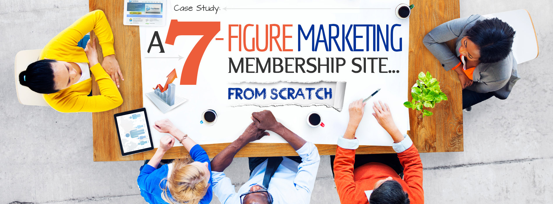 7 figure-marketing membership site