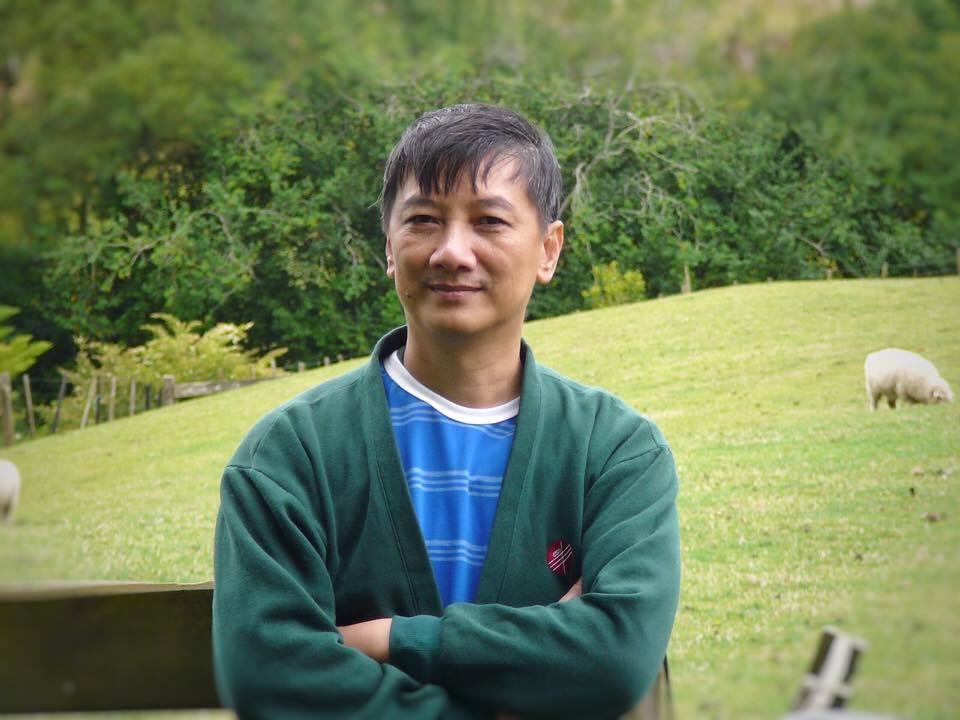 Sam Choo in New Zealand Farm